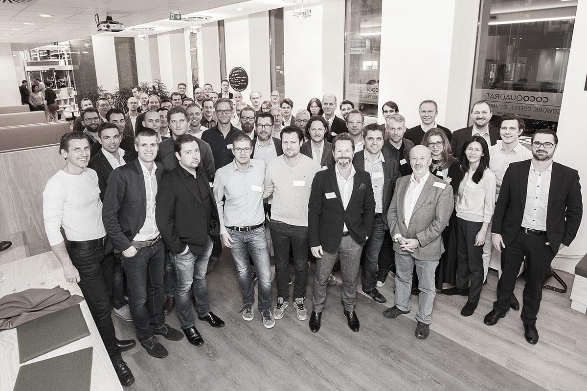 Gründungsgemeinschaft startup300 im Jahr 2015
